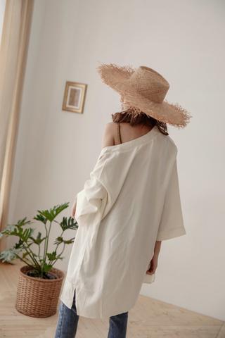 Contemporary Kimono in White