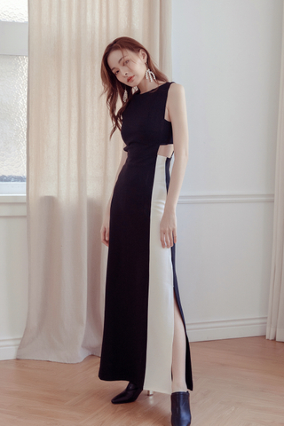 Duo Tone Maxi Dress