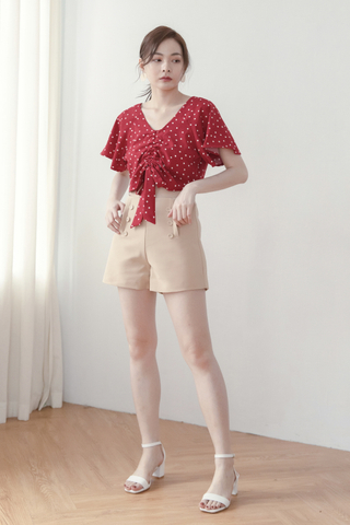 Front-buttons Shorts