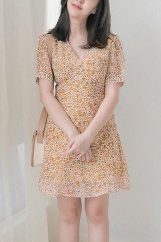 Floral Suplice Dress