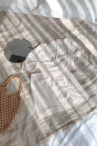 Daisy Buttoned Skirt