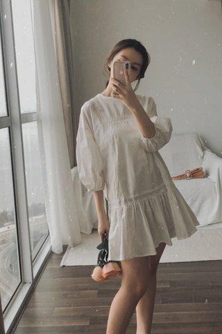 Crochet Puffy Dress