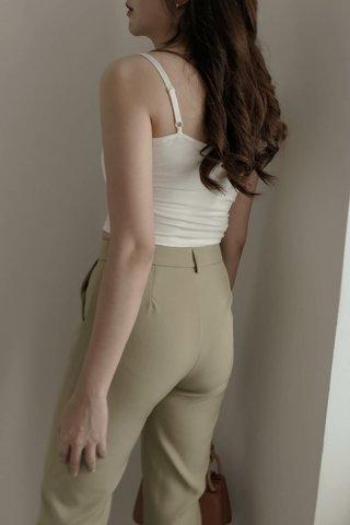 Clare Bra Top in White