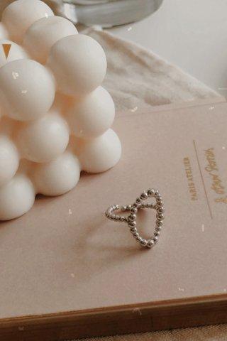 Ovam Beams Ring in Silver