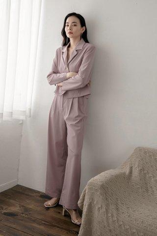 Flosi Wide-Leg Trousers in Lavender