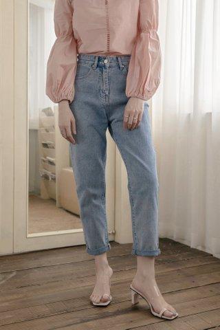 Mom Tapered Denim Jeans