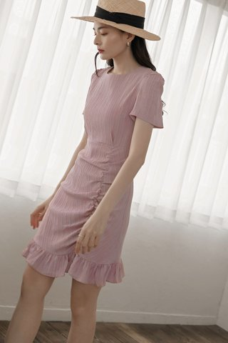 Ruffled Ladies Dress