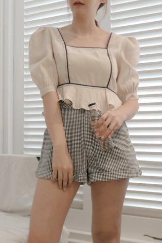 Nano Checkered Shorts