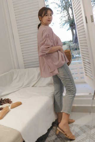 Loosy Pleated Blouse