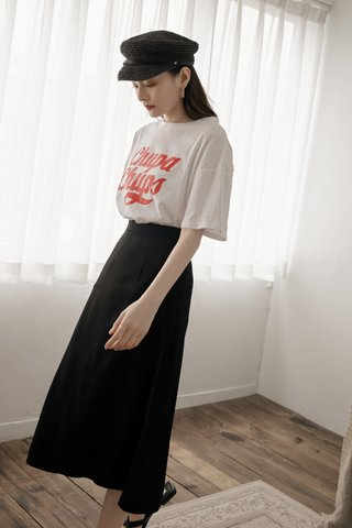 Churps Oversized Tee in White