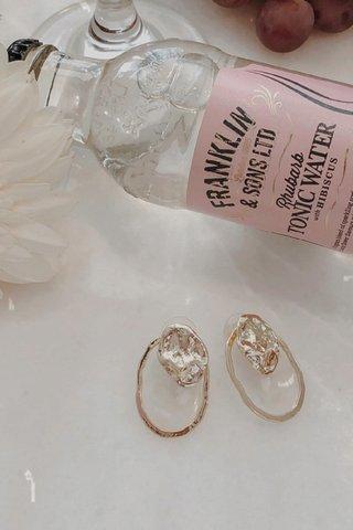 Confetti Pendant Drop Earrings