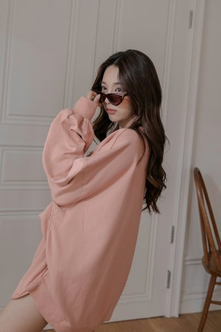 Pullover Two-piece Set in Tea Rose