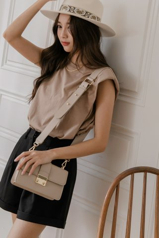 More Than One Bag in Nude
