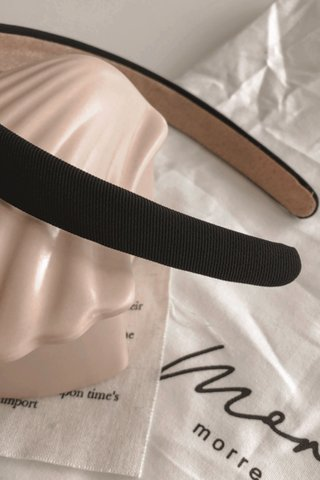Lulu Basic Headband in Black