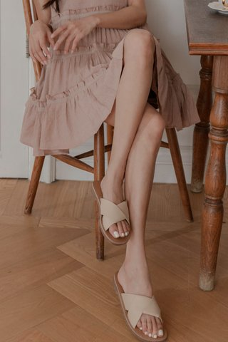 Nudey Cross Sandals