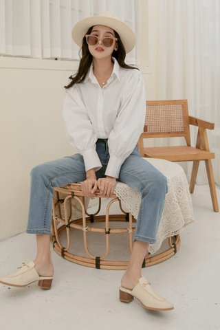 Westwood Button-Fly Mom Jeans