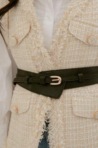 Lulu High-waist Belt in Black