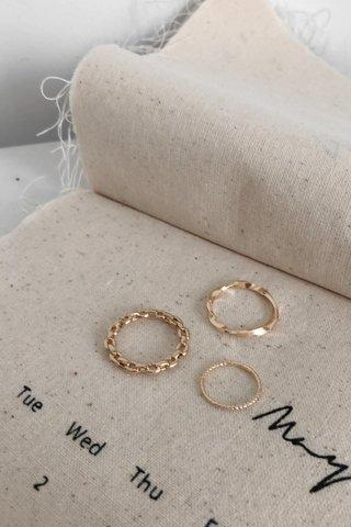 Triple Rings Set